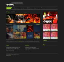 Anothera Site Design 09 by Cixxy