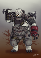 Russel (Onslaughter Concept art) by dabigboss888