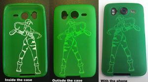 Customised phone case - Street Fighter Cammy by KaniKaniza