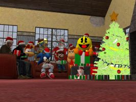 A Video Game Christmas. by SuperSmashBrosGmod