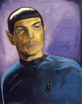 Spock by musicgeekstress