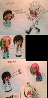 College Doodles: Semester 2 Weeks 1 and 2 by Mdpikachu