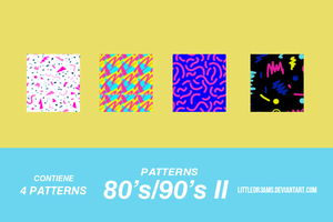 80s - 90s II - PATTERNS by LittleDr3ams