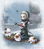 [Secret Santa] Diana and Poros by TekkanoMaki-chan