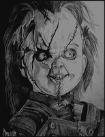 Chucky - Bride of Chucky by Kevercaser