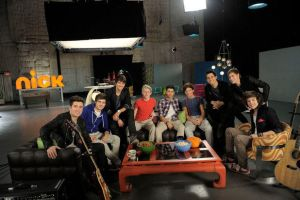 BTR and One Direction Allied Powers is form by Gatchaman-LoganXTay