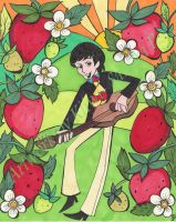 Strawberry Fields Forever Paul by roseandthorn