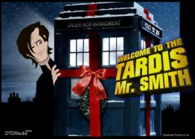 Welcome to the Tardis Mr Smith by dtdstudio