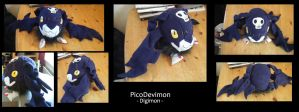 Plushie - Another PicoDevimon by Gomis