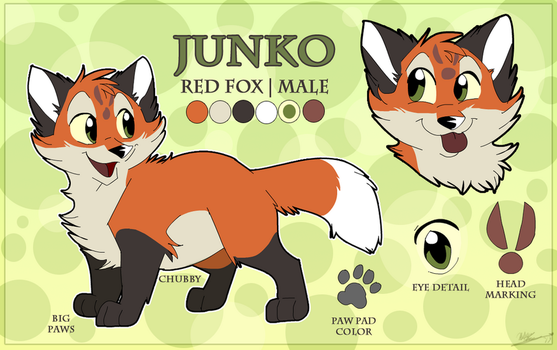 [YinYang]- Junko Ref by TheCynicalHound