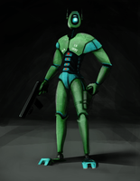Humanoid Scout by InsaneIVI