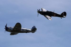 P-47 Hurricane Formation by shelbs2