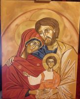 Holy Family by maja135able