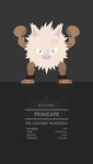Primeape by WEAPONIX
