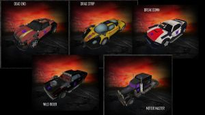 Twisted Metal - STUNTICONS! by Helios437