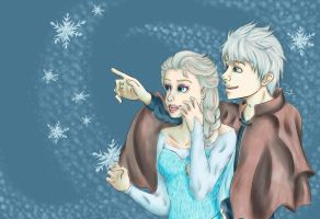 20150426 Look a Snowflake!  by Yam0sdrawing