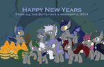 Happy New Year's From Vapor's Family and Friends by DuskTheBatPack
