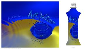 Art Water Label Entry by otas32