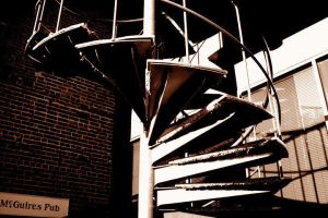 Spiral of Stairs by Jordanart4peace