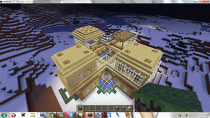 Minecraft My New Home ( Top ) by MikaMori