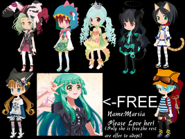 Offer to adopt Adoptable + 1 FREE by AdoptableSoulxHeart