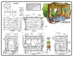 Bart Simpson Treehouse Playset by toymaker-cl