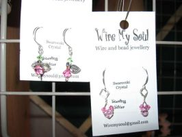 Earrings 8 and 9 by WireMySoul