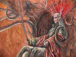 Thranduil King by ANeDe