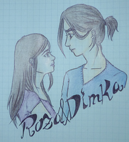 Dimka and Roza by SwagSagwa