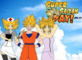 Super Saiyan Day 2013!!! by MargaritaTaichou