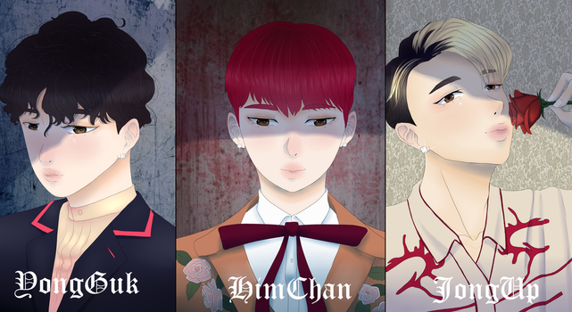 B.A.P pack1 by Maria-Fly