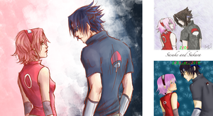 improvement?Sasuke and Sakura by DramaQueen14