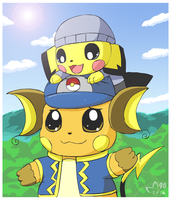 Cade and Nelly by pichu90
