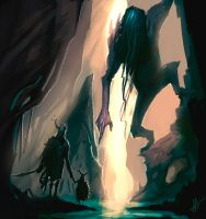 Cave Troll by Aths-Art