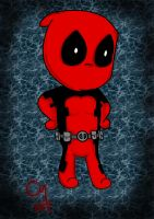 Chibi Deadpool by sapphirestarflake