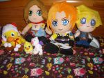 Final Fantasy Plushies by 7marichan7