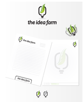 The Idea Farm Logo Design + Stationery by dsquaredgfx