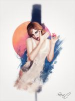 Emma Watson - Potion of Life by creativecyclops