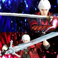 Nero vs Dante: Only one stand the last battle. by Hatredboy