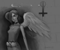 Fallen Angel by orgo
