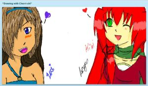 iscribble: Alexis and Kiki by StrawberryPandii93