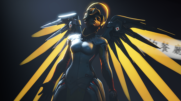 Mercy (Overwatch) by AngryRabbitGmoD