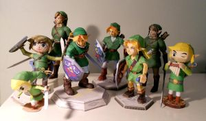 Faces of Link Update by sah24