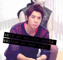 Donghae ABCD ET GOLLUM by Heedictated