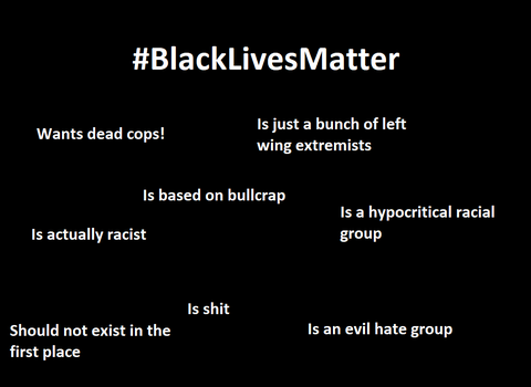 Black Lives Matter is EVIL by diolaneiuma2156