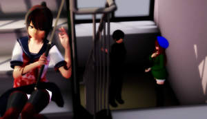 .:Yandere Simulator:. One girl left.. by lCupquake