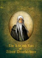 Albus Dumbledore book cover by hueco-mundo