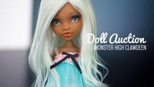 Customised Monster High Clawdeen (up for auction) by AndrejA