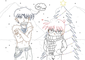 Christmas vacation+Fairy Tail crossover [UL] - DC by UsagiTail