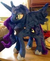 Princess Luna Plush - Sold! by Mimi-the-Skitty